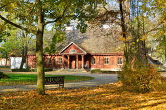 Mangårdsbyggnad i Radziejowice (Polen) Arkivbild