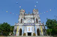 Mang Lang kyrka i Phu Yen, Vietnam Arkivfoto