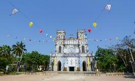 Mang Lang kyrka i Phu Yen, Vietnam Arkivbild