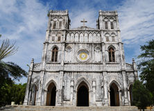 Mang Lang old church in Phuyen, Vietnam Stock Photo