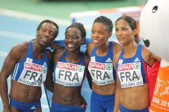 Mang, Soumare, Jacques-Seb. And Arron Of France Royalty Free Stock Photography