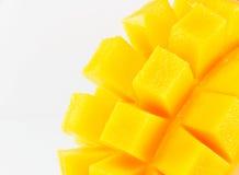 Manga amarela isolada em um fundo branco imagens de stock