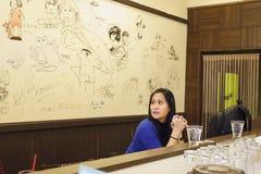 Manga-Café Stockfoto