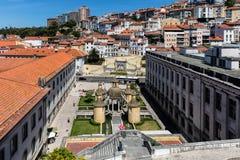 Manga Cloister i Coimbra Royaltyfria Bilder