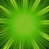 Manga comic book flash explosion radial lines background. Royalty Free Stock Images
