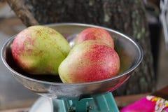 Manga da maçã do fruto tropical, Filipinas fotos de stock royalty free