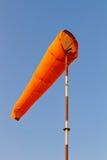 Manga de viento contra el cielo azul Imágenes de archivo libres de regalías