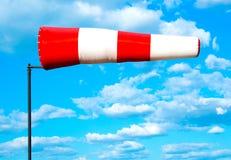 Manga de viento de la bandera del viento Foto de archivo libre de regalías