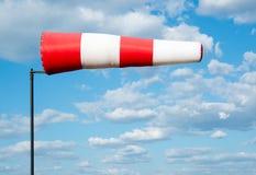Manga de viento de la bandera del viento Foto de archivo