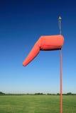 Manga de viento del aeropuerto Imagenes de archivo