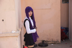 Manga flicka Royaltyfri Fotografi