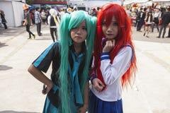 Manga flicka Arkivfoton