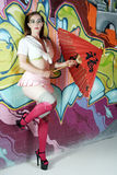 Manga Girl Royalty Free Stock Image