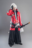 Manga hero with sword Royalty Free Stock Image