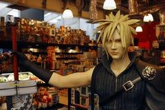 Manga hero Stock Photo