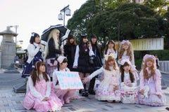 Manga Mädchen stockfotografie