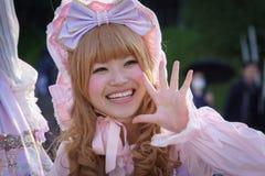 Manga Mädchen lizenzfreies stockfoto