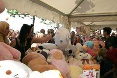 Manga market booth Royalty Free Stock Photo