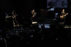 Manga rock concert Stock Image