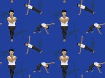 Yoga Core Poses Vector Illustration Monochrome Stock ...  Yoga Core Poses...