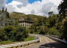 Mangahao Power Station. Surrounded with native bush Stock Photo