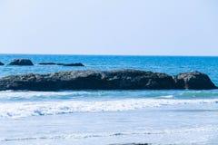 Mangalur-Strand an seinem Besten Stockfotos