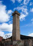Mangana Tower in Cuenca, Spain Royalty Free Stock Photos