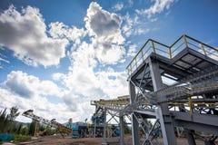 Manganese mine Royalty Free Stock Photo