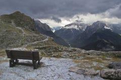 Mangart, Slovenia Fotografia Stock