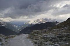Mangart, Slovenia Immagine Stock Libera da Diritti