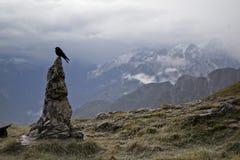 Mangart, Slovenia Fotografia Stock Libera da Diritti