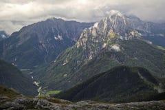 Mangart, Slovenia Immagine Stock