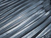 Mangas de tierra de la tala para los posts de madera Imagen de archivo libre de regalías