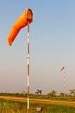 Mangas de viento Fotos de archivo libres de regalías