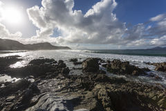 Mangawhai Beach, NZ Royalty Free Stock Photo