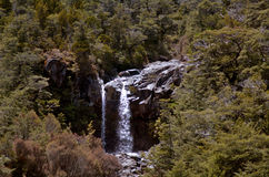 Mangawhero falls in Tongariro National Park Stock Photo