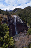 Mangawhero falls in Tongariro National Park Royalty Free Stock Photo