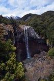 Mangawhero falls in Tongariro National Park Royalty Free Stock Photo