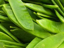 Mange Tout Royalty Free Stock Photography