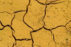 Mangel des trockenen Bodens an Wasser Lizenzfreies Stockbild