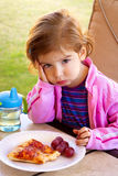 Mangeur difficile image libre de droits