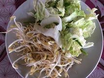 Mangez les légumes frais délicieux Photos stock