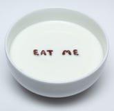 Mangez-moi Photo stock