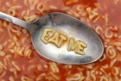 Mangez-moi Image libre de droits