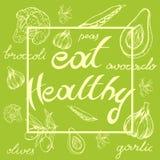 Mangez sain Photographie stock libre de droits