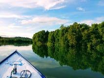 Manggar河 库存图片