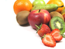 Mangi la frutta fotografia stock libera da diritti