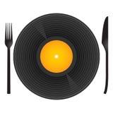 Mangi la mia musica Immagine Stock Libera da Diritti
