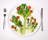 Mangi più di verdure Fotografia Stock