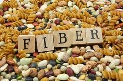 Mangi più fibra! Fotografia Stock Libera da Diritti